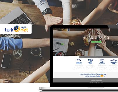 TurkNet Web Site Tasarımı