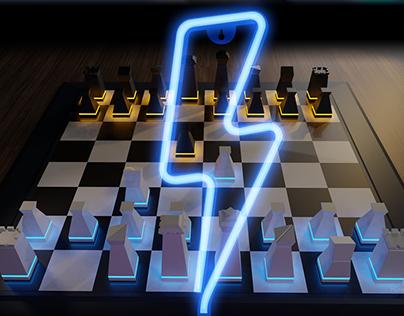 3D Chessboard Design