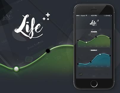 Life Game UI Design Concept