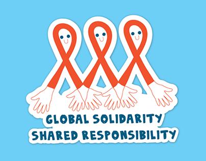 World AIDS Day Stickers