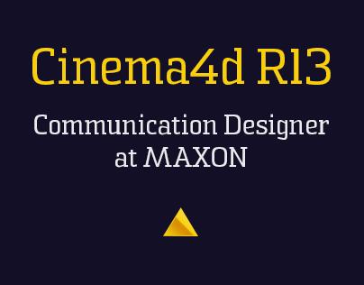 CINEMA 4D Release 13