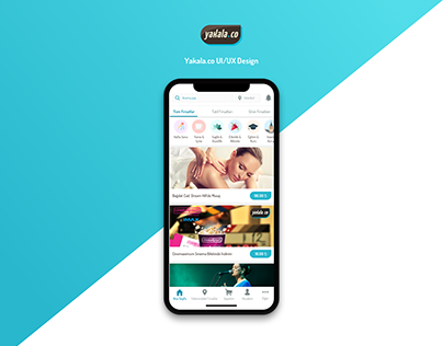 Yakala.co App UX/UI Design