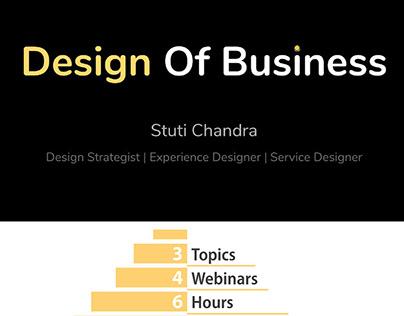 Design Workshop: Design of Business