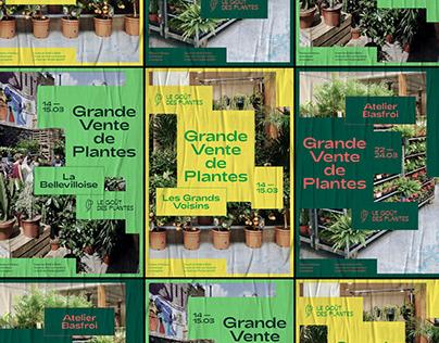 Le Goût des Plantes - Brand identity