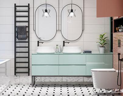 HK1 Bathroom for girls