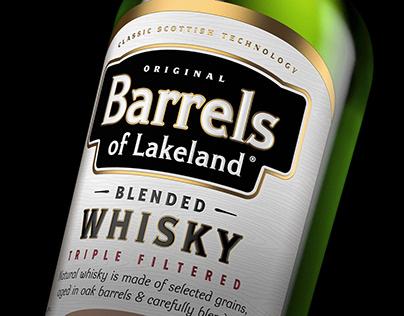 Whisky BARRELS OF LAKELAND