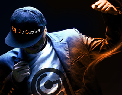 Identidade Visual Dj Ale Guedes