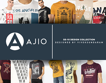 AJIO-SS 18 / DESIGN PROJECT