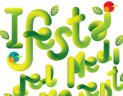 Cartel para la 1ª Festa del Medi Ambient