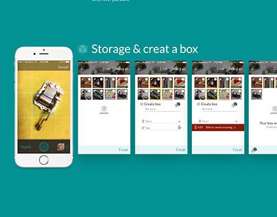 Boxes - storage app