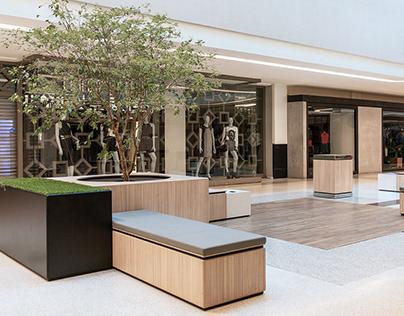 Modular Furniture Design for Recife Mall
