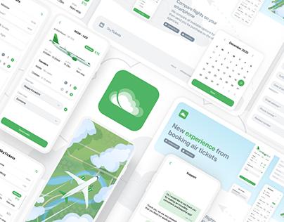 SkyTickets   Flight booking app   UI/UX