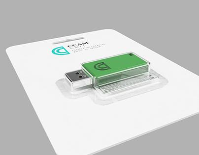 USB key 3D design