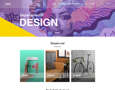 Site Concept for Design Department UAD