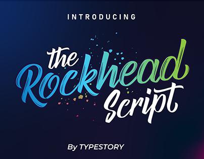 New font the Rockhead Brush Script