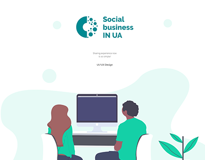 SB IN UA - Website for social business (non-profit)