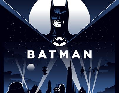 BATMAN (1989) Poster Art