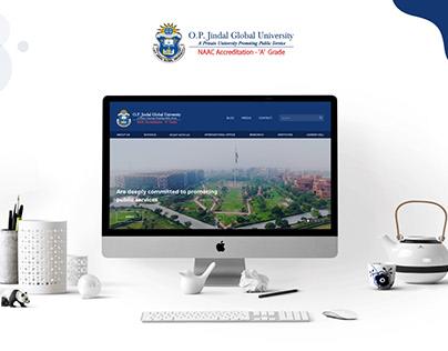 O.P. Jindal Global University Website Design