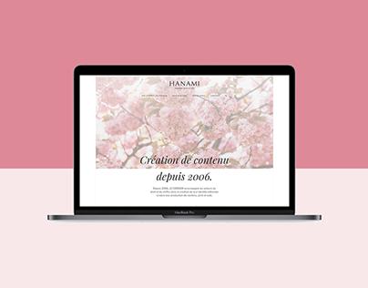 Hanami, Brand identity & Webdesign