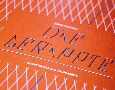 DIE GERIPPTE - FONT DESIGN