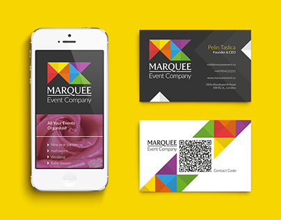 Marquee Event Company Corporate Identity