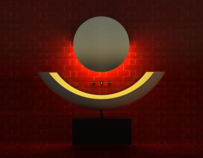 sunrise bathroom concept
