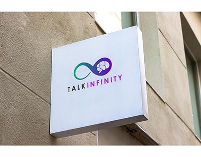 Talk Infinity App Business logo