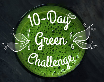 10 Day green challenge  | Social media campaign