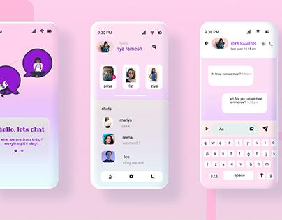 messenger concept design