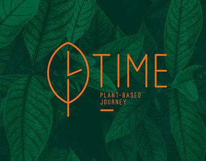 Rediseño Logotipo Restaurante Vegetariano TIME.