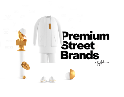 Premium Street Brands Ecommerce Concept