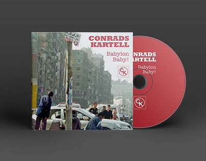 """Babylon Baby!"" – CD-Cover und Poster"