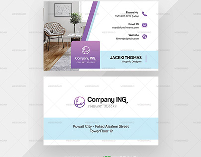 Double Sided Elegant Creative Premium Business Card