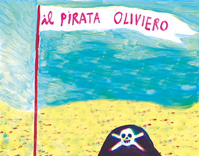 """A little book I made for my nephew """"PIRATE OLIVIERO"""""""