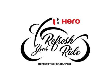 Hero moto corp creatives