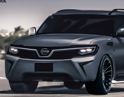 nissan patrol 2017 on behance. Black Bedroom Furniture Sets. Home Design Ideas