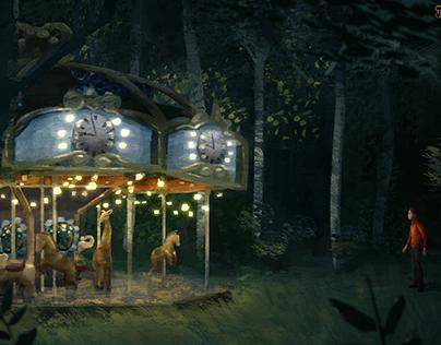 The Carousel Clock - Visual Development