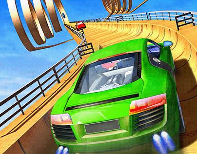 Twister Ramp Car Stunts