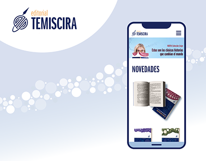 Web Design: Editorial Temiscira