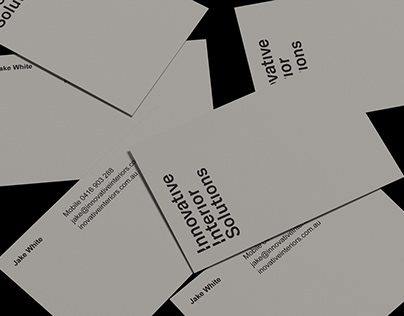 Innovative Interior Solutions / Branding