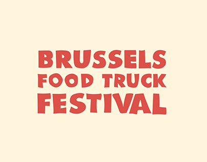 BRUSSELS FOODTRUCK FESTIVAL | Poster
