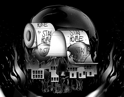 Editorial illustration / Pandemic