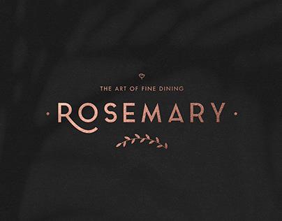 Rosemary Restaurant - Brand Identity