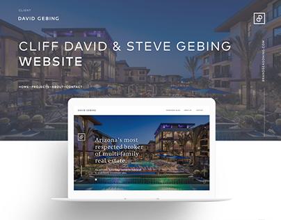 David Gebing Website