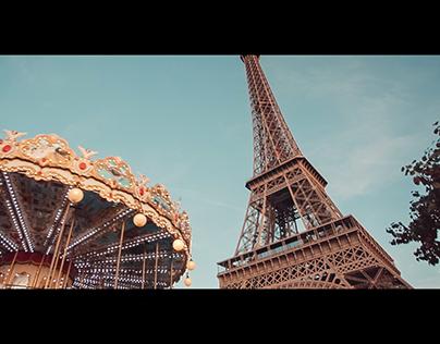 Paris as seen on October 23, 2018