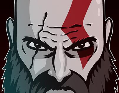 Kratos Vector Illustration