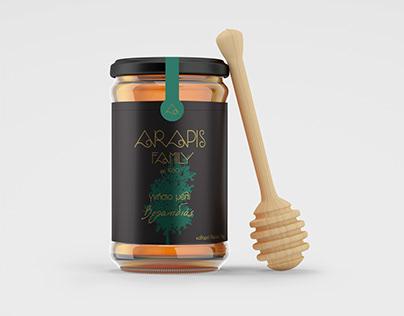 Arapis Family Label Design