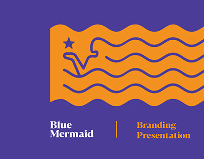 Blue Mermaid - Branding Presentation