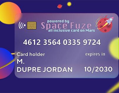 Member Card by Space Fuze