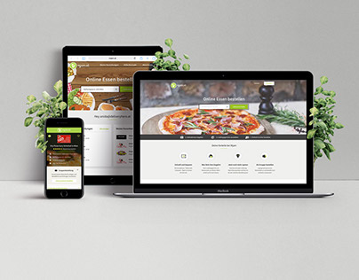 Responsive Food Ordering Website - mjam.at